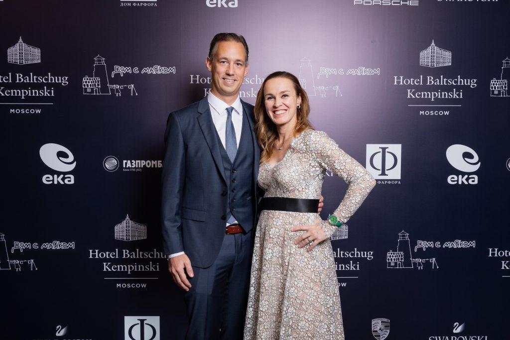 Мартина Хингис с супругом Харальдом Лееманном