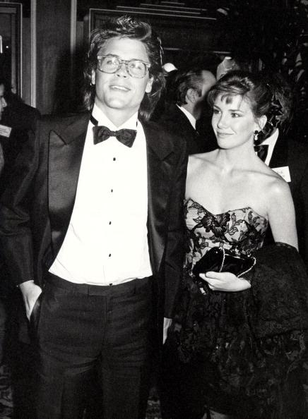 Роб Лоу и Мелисса Гилберт (1985)