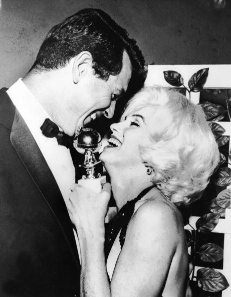 Рок Хадсон и Мэрилин Монро (1962)