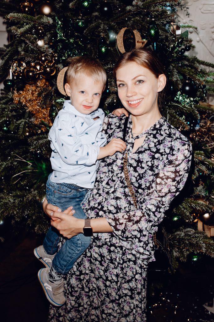 Наталья Богданкевич с сыном