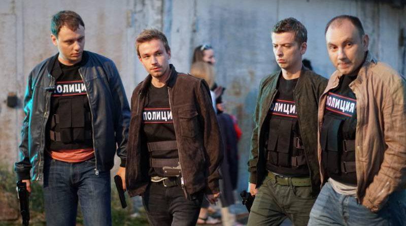Кадр из сериала «Полицейский с Рублевки»
