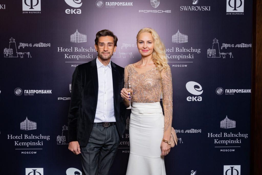 Руслан Нигматуллин с супругой