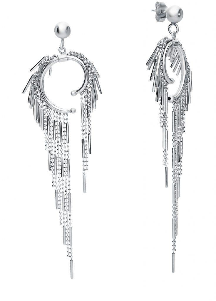 Серебряные серьги Fancy Italiano, SUNLIGHT (арт.: 83219)