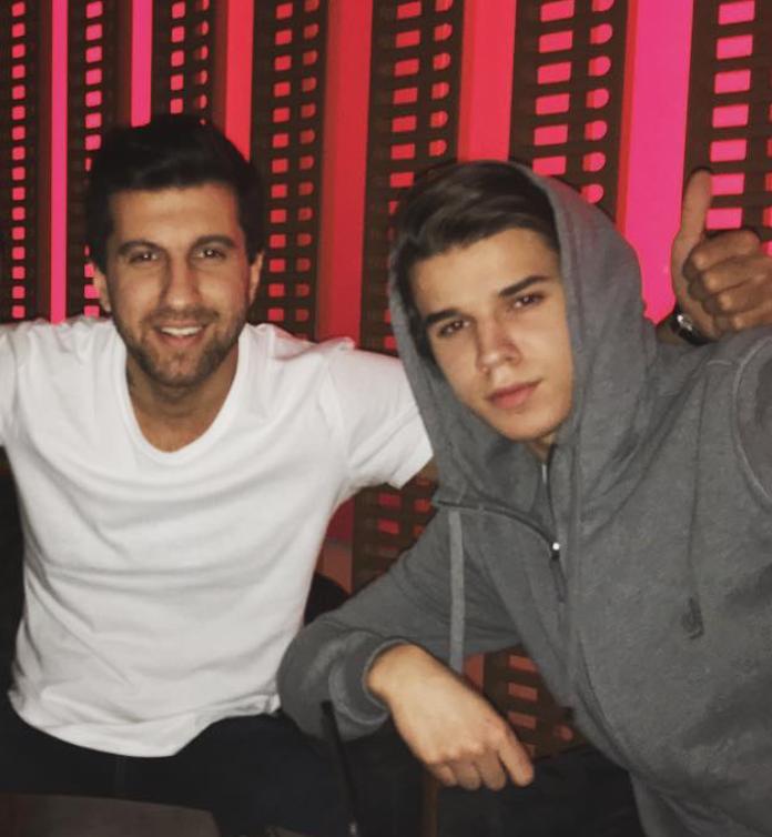Амиран Сардаров и Гриша Мамурин