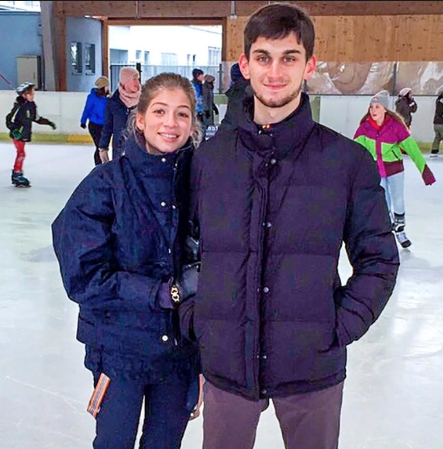 Саша Новикова и Аркадий Абрамович