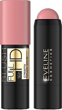 Кремовые румяна в стике Eveline Cosmetics Full HD Creamy Blush Stick, 400 р.