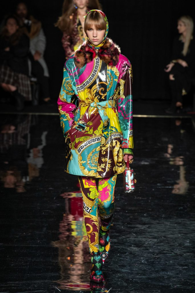 Принт а-ля шелковый шарф, как у Versace
