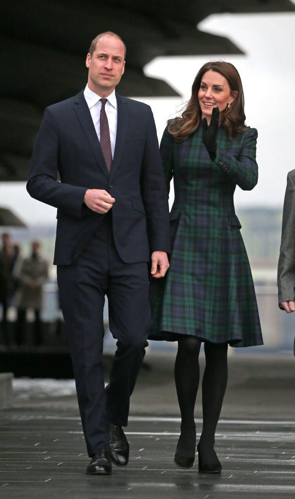 Кейт Миддлтон и принц Уильям в январе 2019