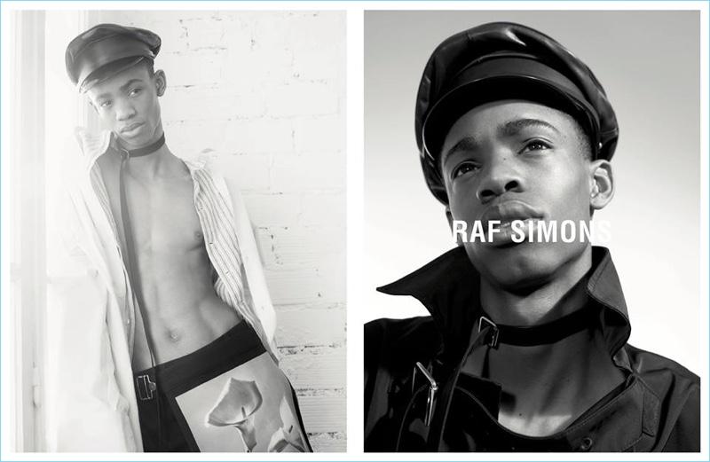 Рекламная кампания Raf Simons