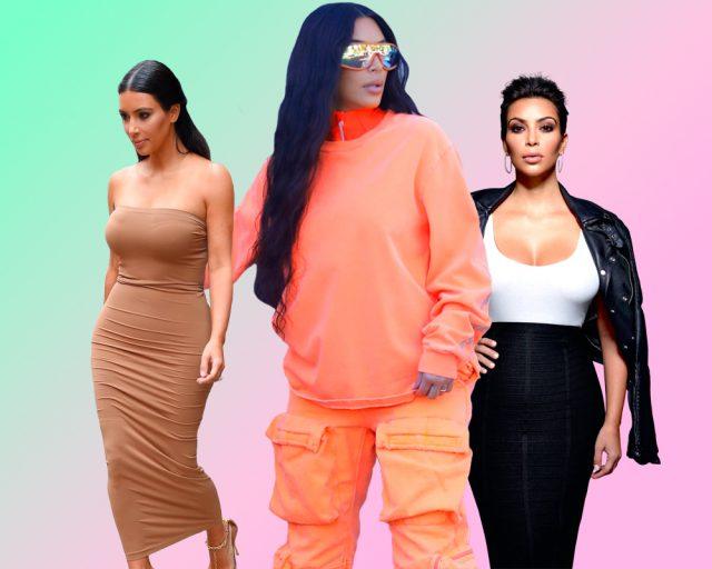 Как менялась Ким Кардашьян: преображение звезды на PEOPLETALK