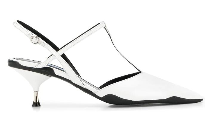 Лодочки Prada, 46000 p. (farfetch.com)