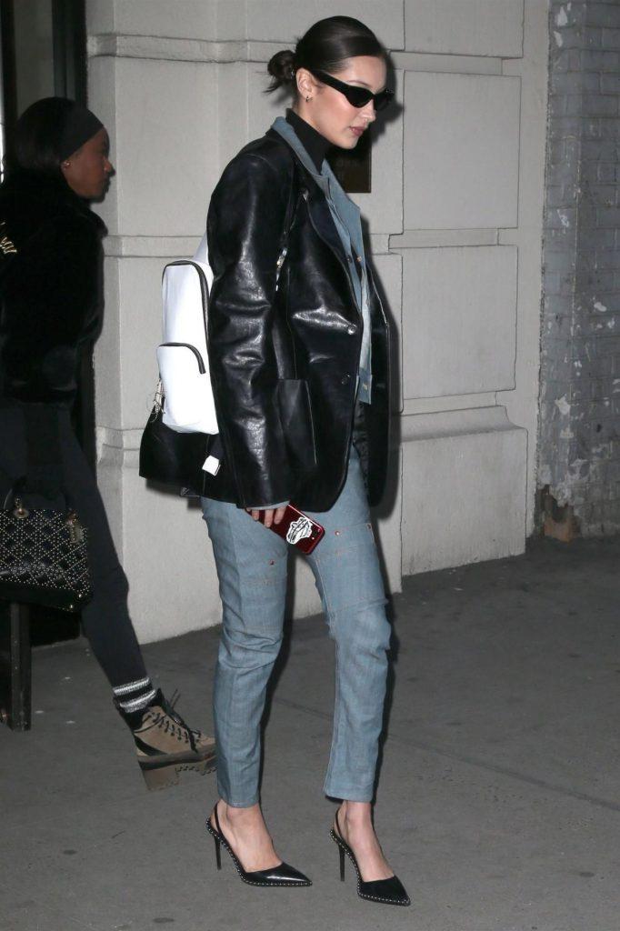 Белла Хадид с сумкой Alyx