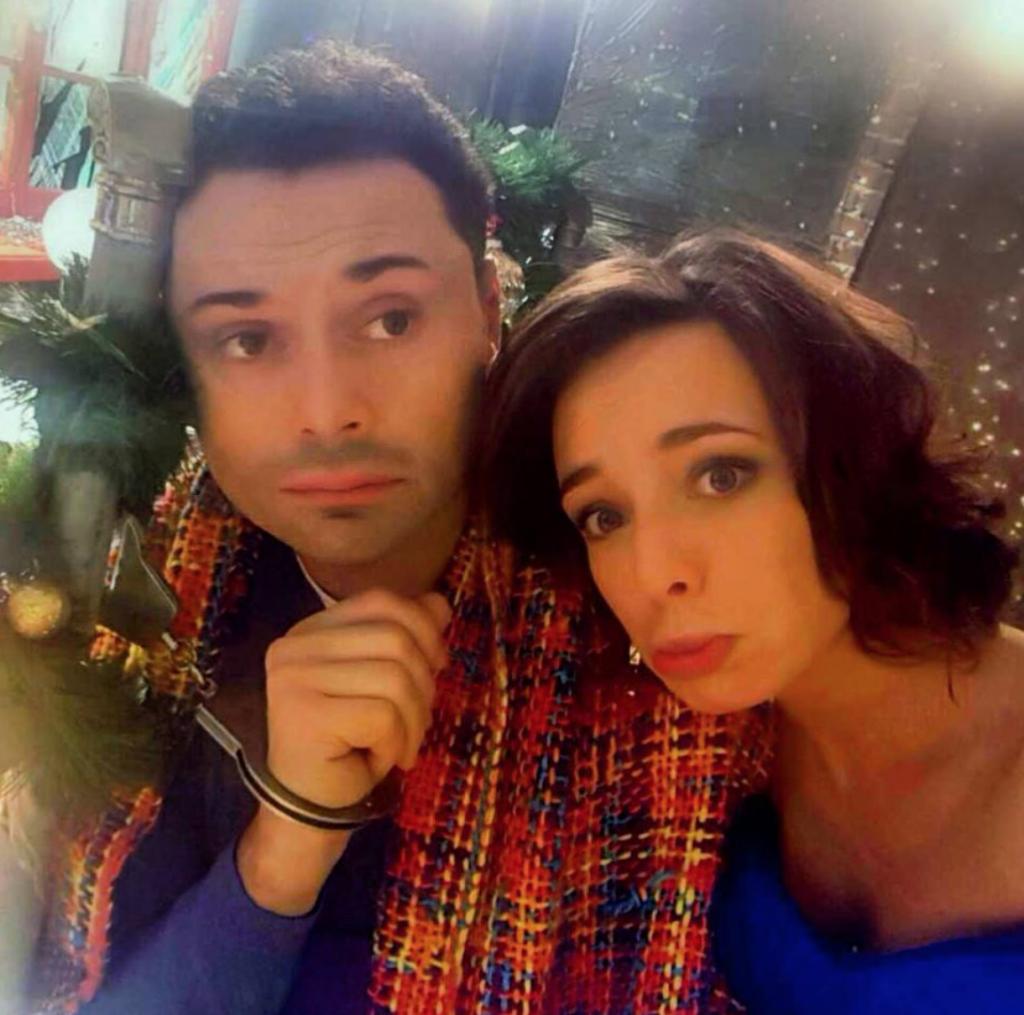 Андрей Носков  с женой @andreynoskov_art