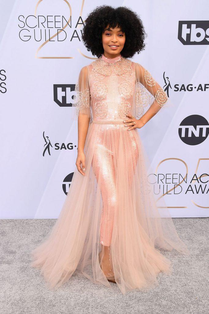 Яра Шахиди в Fendi Couture