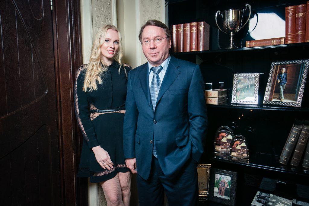 Олеся Бословяк и Владимир Кожин