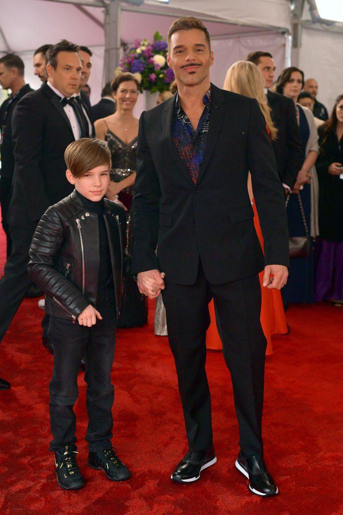 Рики Мартин с сыном