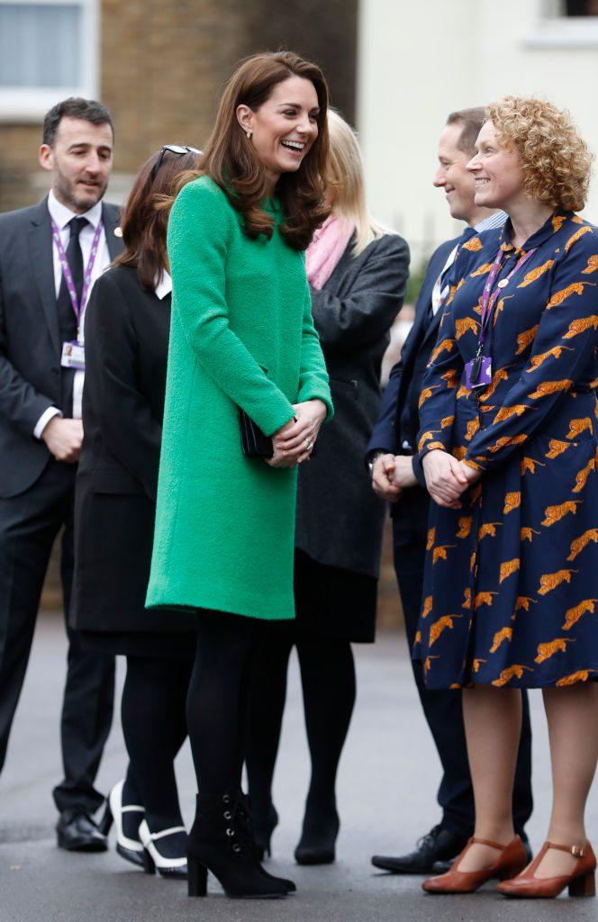 Кейт Миддлтон в феврале 2019