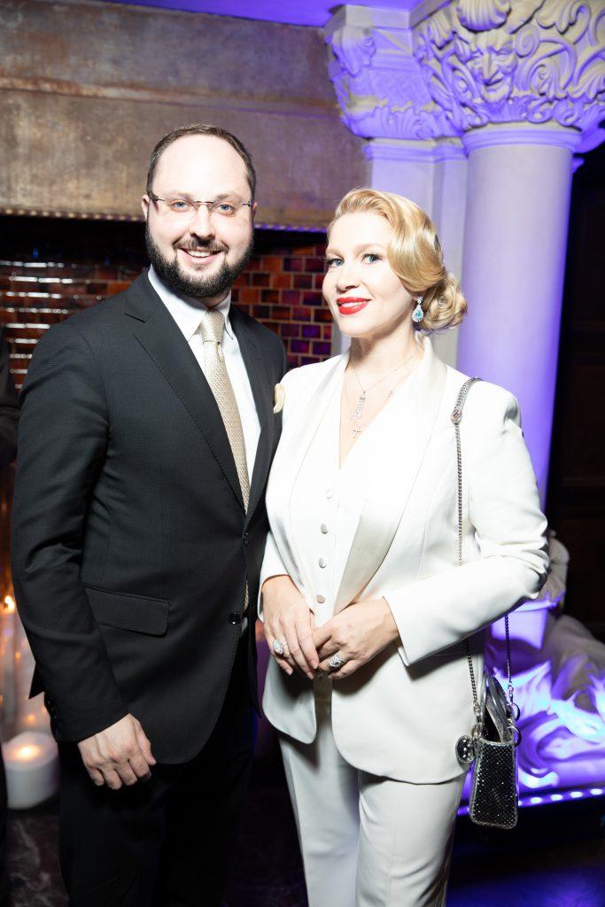 Екатерина Одинцова и Максим Кретов