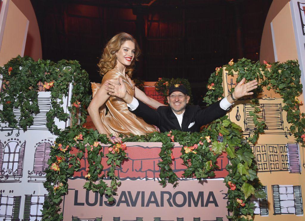 Наталья Водянова и Андреа Панконези