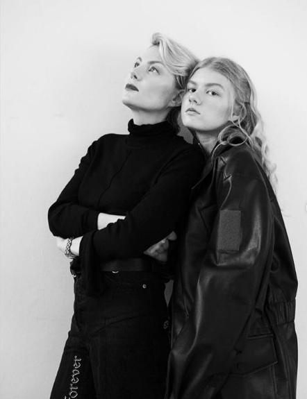 Рената Литвинова и Ульяна Добровская (фото: Instagram/ @renatalitvinovaofficiall)
