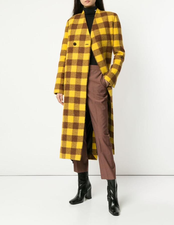 Пальто Rick Owens, 139200 p. (farfetch.com)