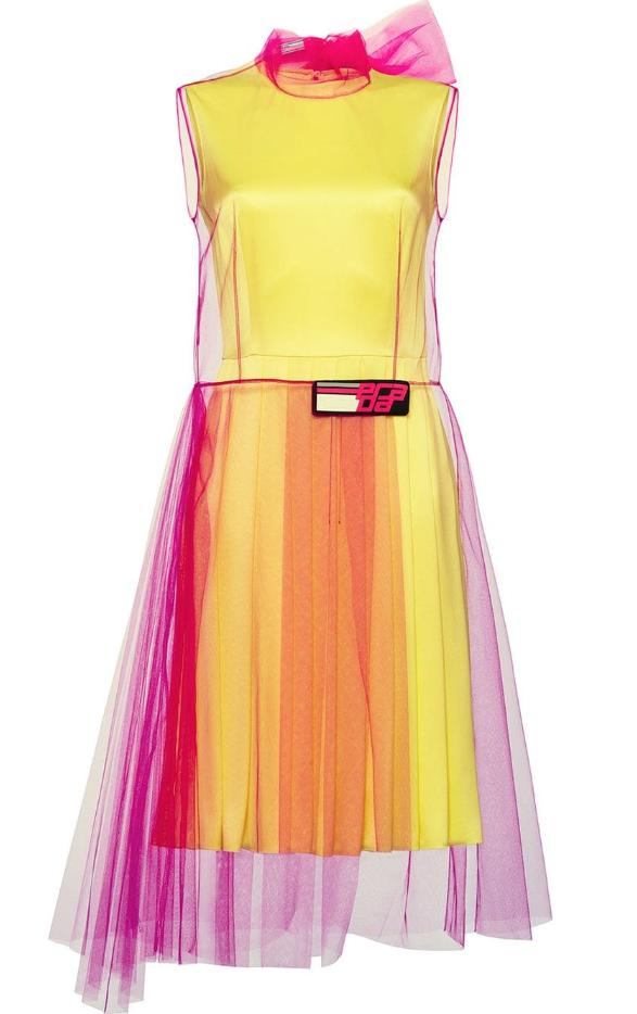 Платье Prada, 103261 p. (farfetch.com)