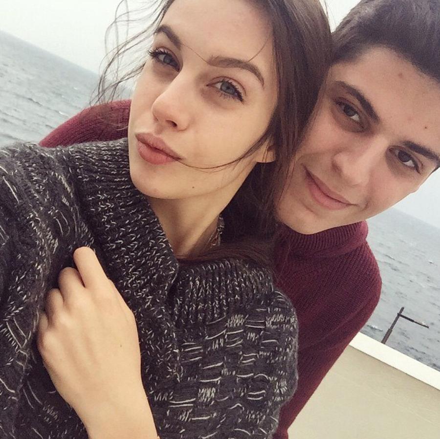 Диана Червиченко с Михаилом Семендуевым