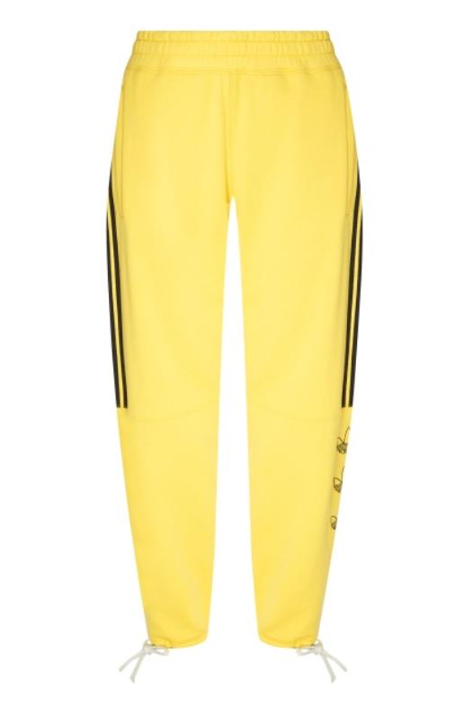 Желтые брюки adidas, 6100 p. (aizel.ru)