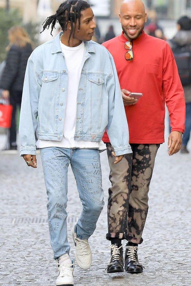 A$AP Rocky и Мэттью Хенсон