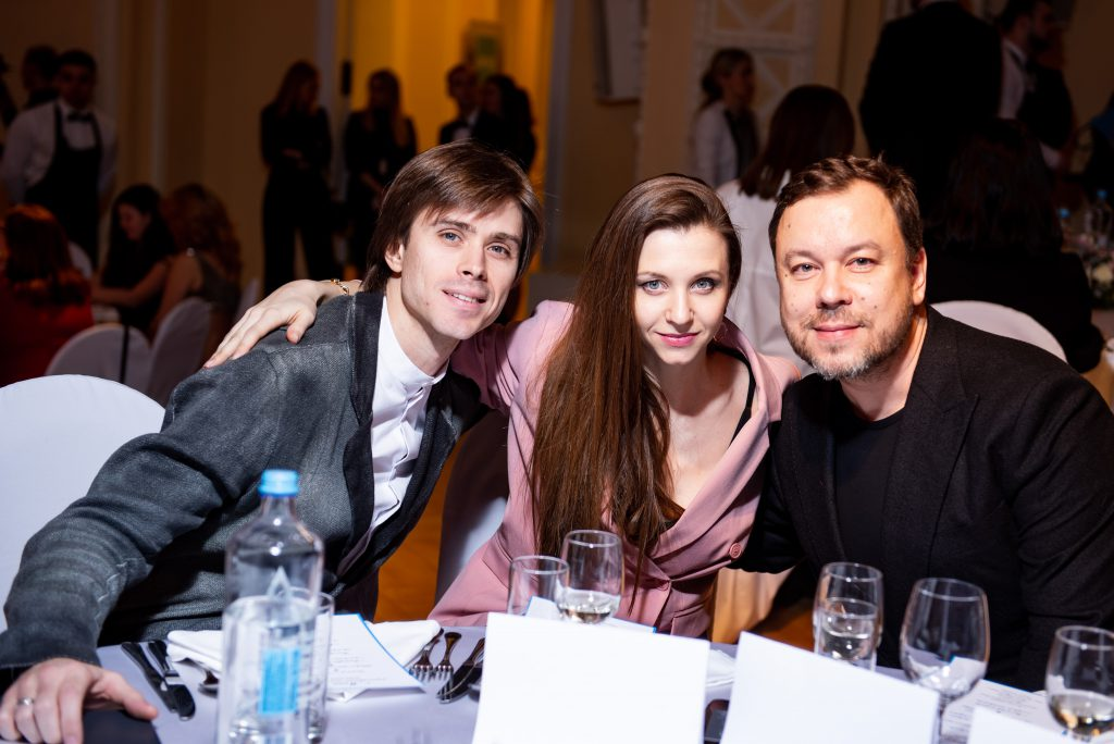 Артем Овчаренко, Анна Тихомирова и Игорь Чапурин