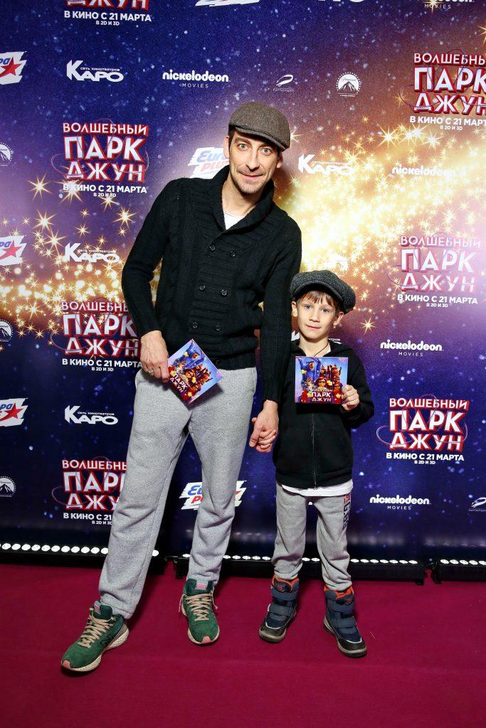 Артем Ткаченко с сыном Тихоном
