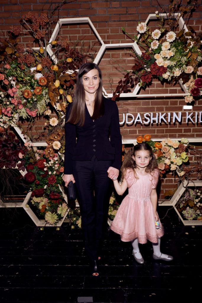 Ирина Йовович с дочерью