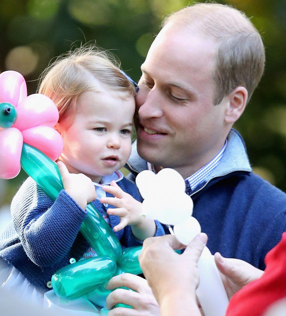 Принц Уильям и принцесса Шарлотта