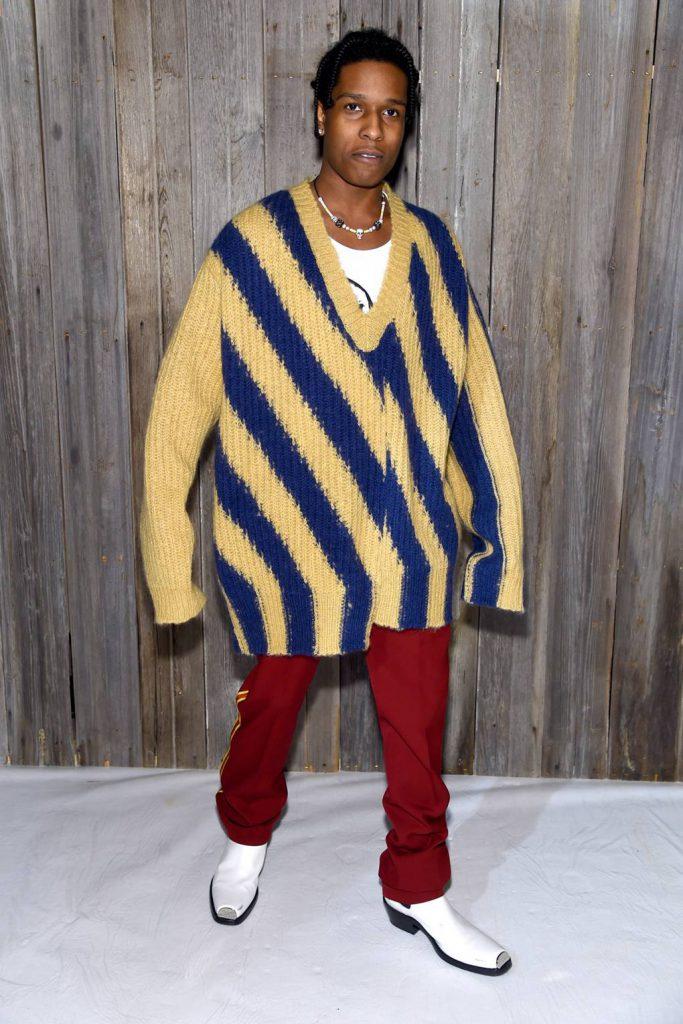 A$AP Rocky в Calvin Klein 205W39NYC