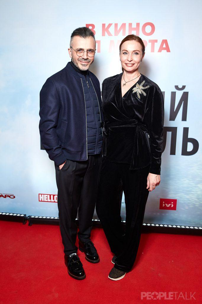 Александр Сирадекиан и Евгения Попова