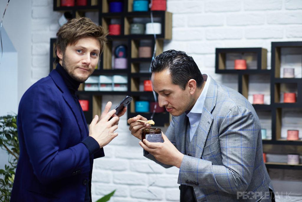 Основатель Fedua Лука Гонзини и основатель Beauty Story Айзек Морено