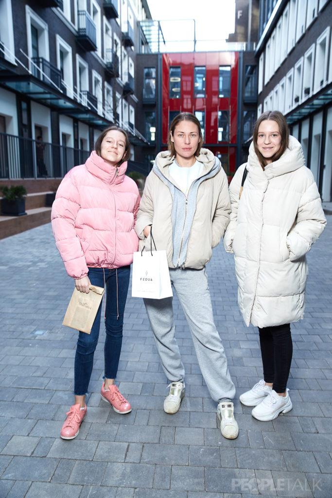 Юлия Мельникова с дочерьми