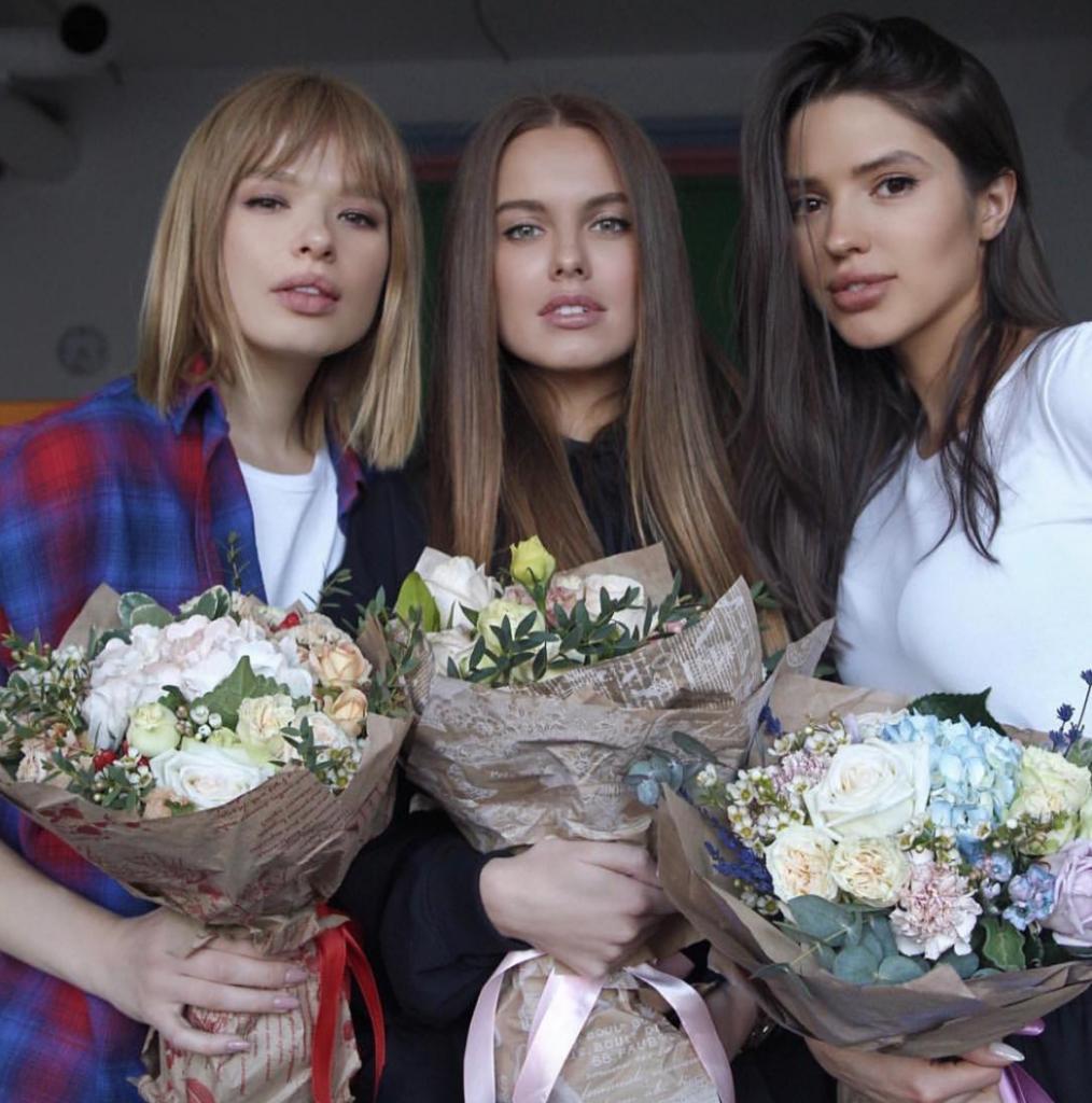 Дуся Бубель, Даша Клюкина и Виктория Короткова