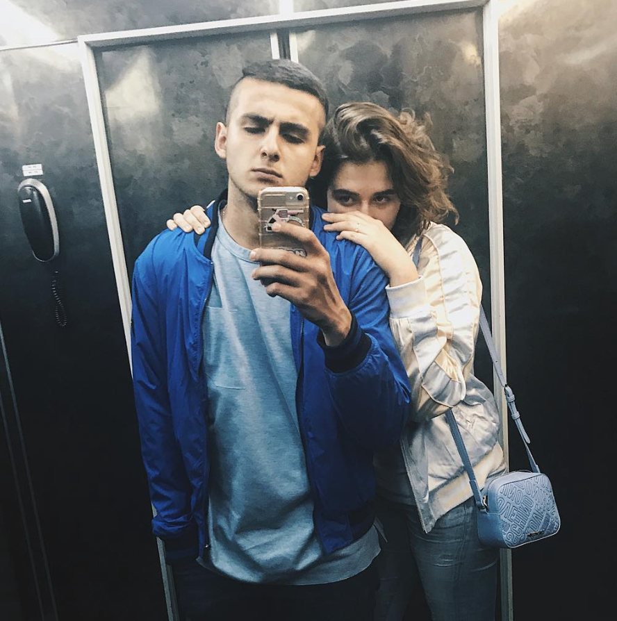 Александра Толстая и Филипп Раджпута