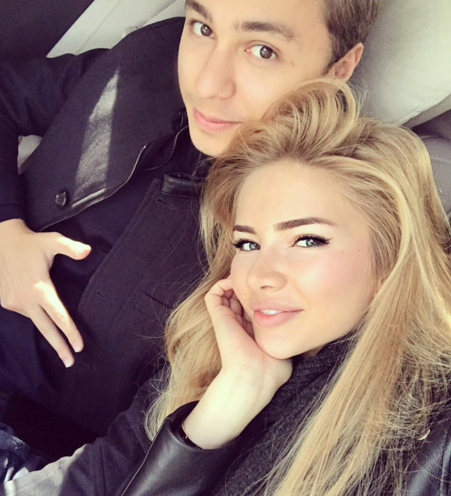 Дима Маликов и Анастасия Толстая