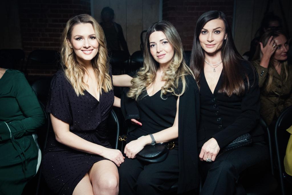 Мария Кожевникова, Изабелла Мишиева и Ирина Йовович