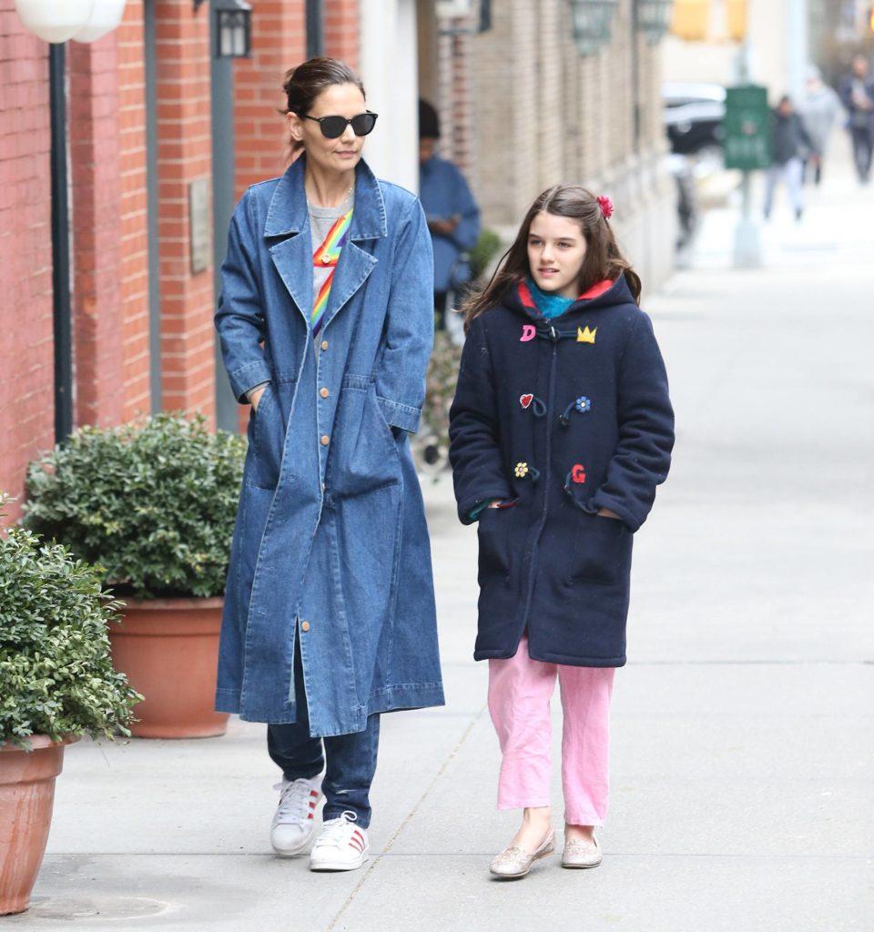 Кэти Холмс с дочкой Сури, 2019 год (Фото: legion-media.ru)