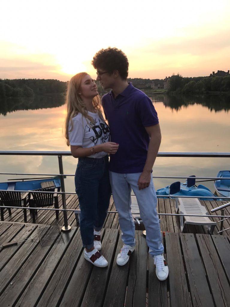 Ангелина Воробьева и Даниил Сапронов