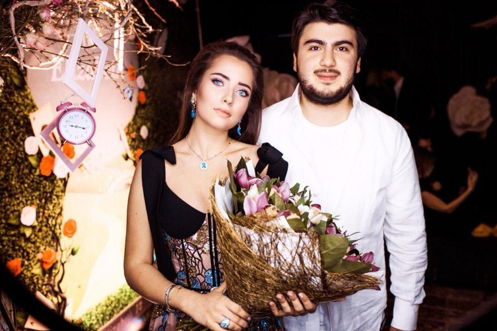 Лиза Нероденкова-Круглова и Илья Хубутия