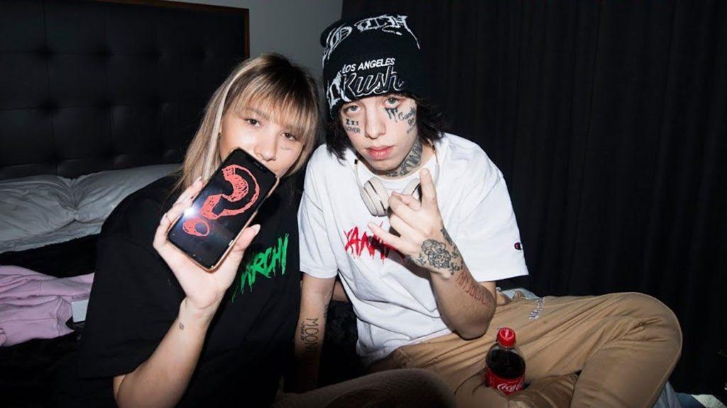 Lil Xan и Энни Смит
