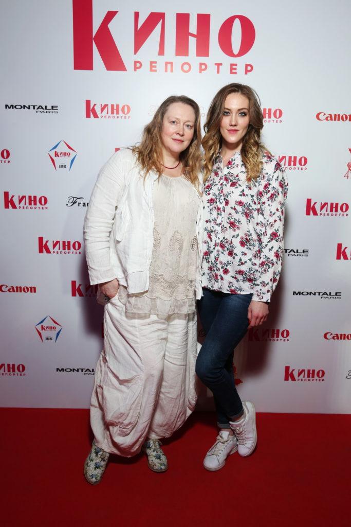 Юлия Ауг с дочерью Полиной