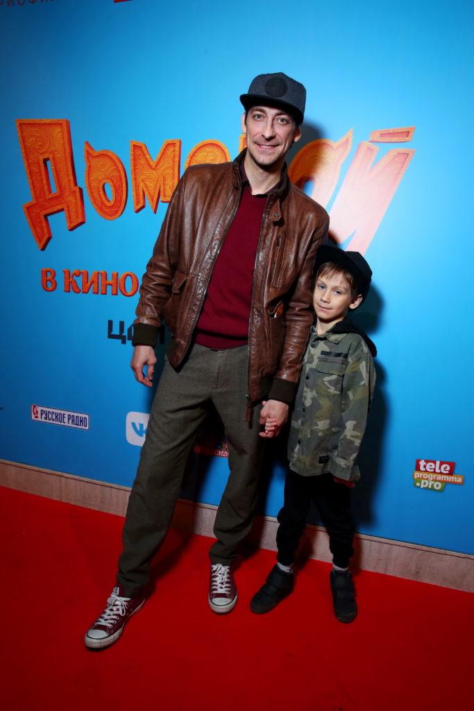 Артем Ткаченко с сыном