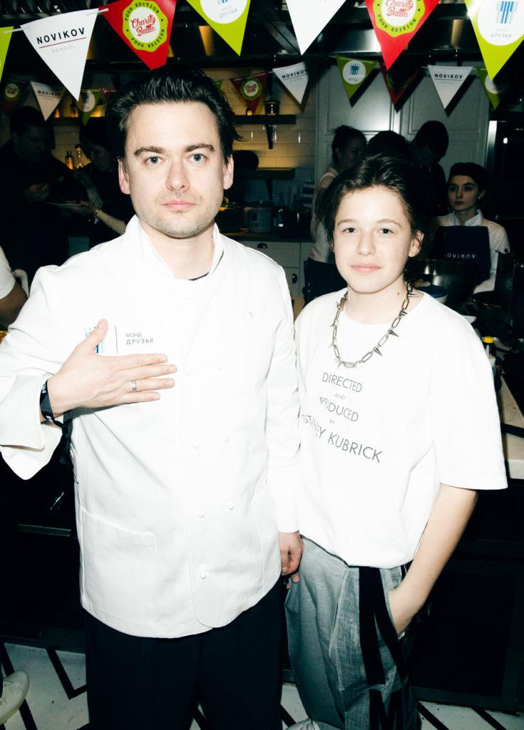 Борис Зарьков с сыном Лукасом