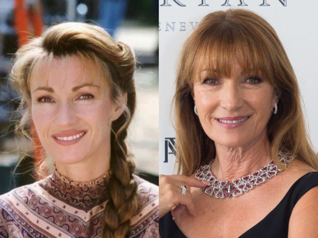 Джейн Сеймур (68), которая сыграла главную роль в сериале «Доктор Куин, женщина-врач» сейчас в основном играет эпизодические роли, последняя из них в фильме «Мистер Хутен и леди»