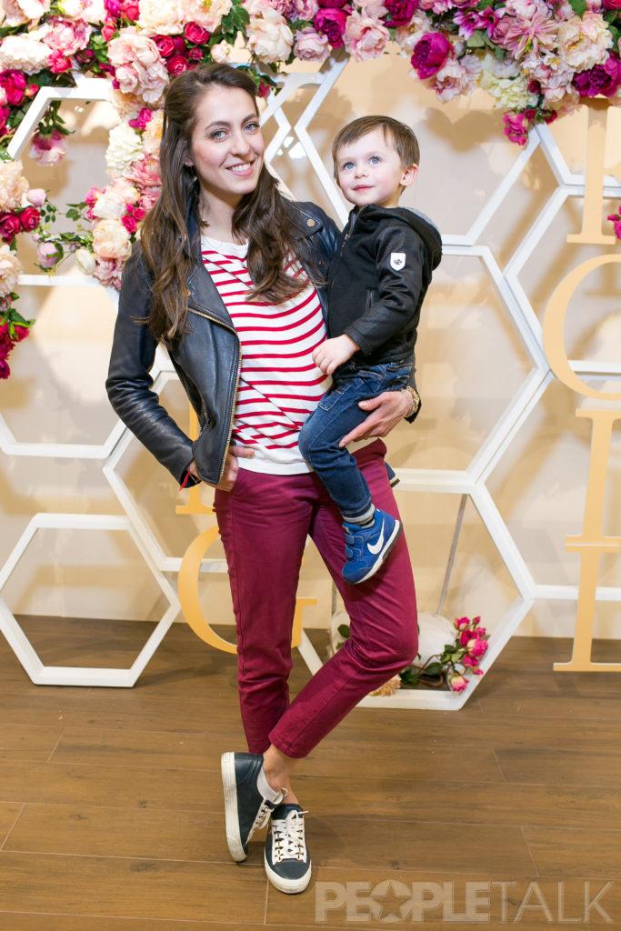Анастасия Меськова с сыном